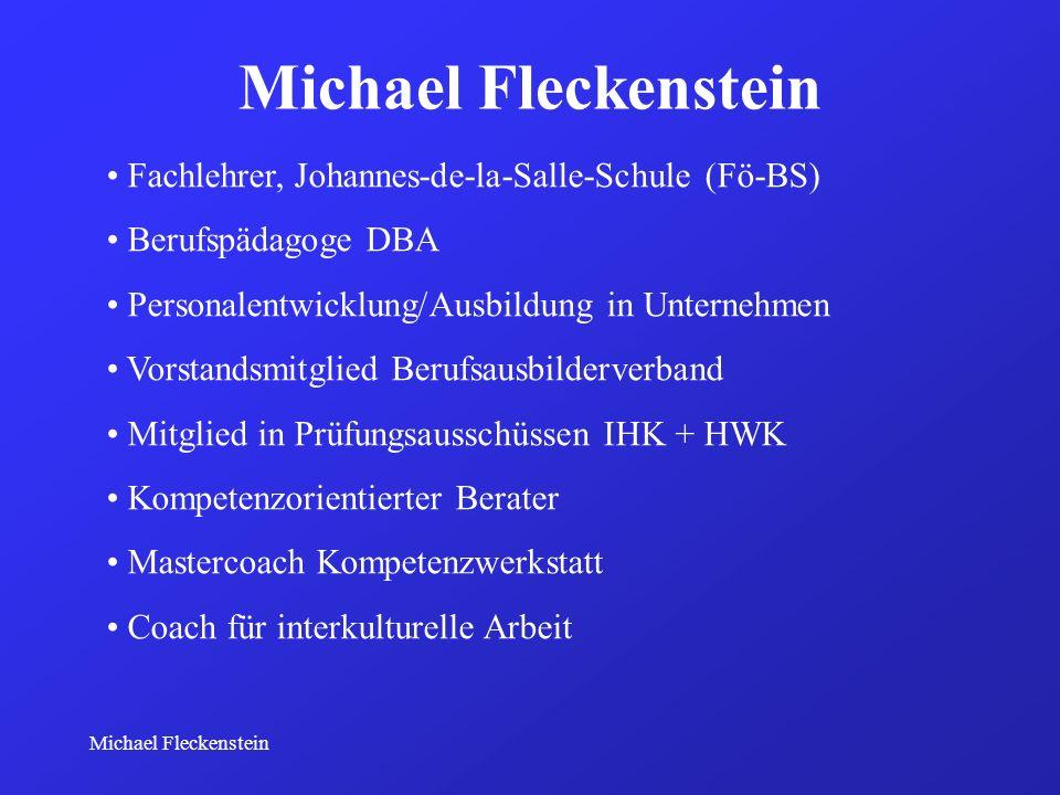 Michael Fleckenstein Fachlehrer, Johannes-de-la-Salle-Schule (Fö-BS)