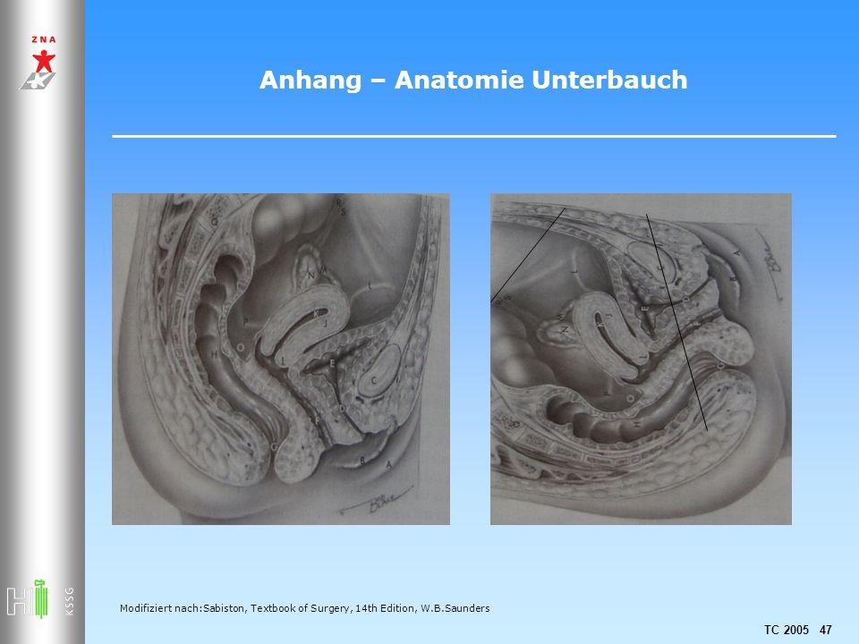 Anhang – Anatomie Unterbauch