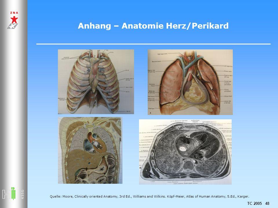 Anhang – Anatomie Herz/Perikard