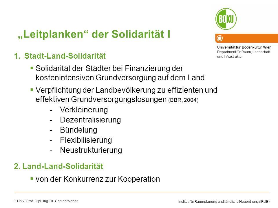 """Leitplanken der Solidarität I"