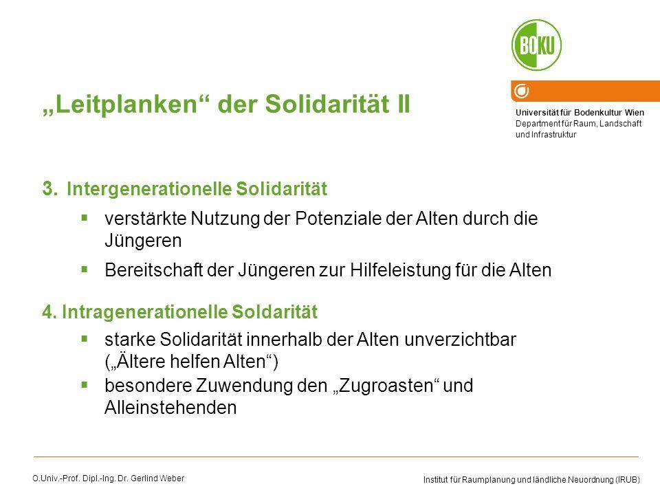 """Leitplanken der Solidarität II"