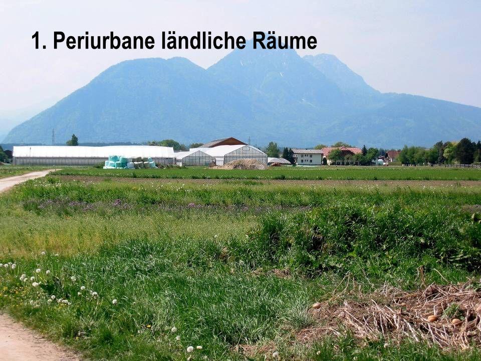 1. Periurbane ländliche Räume
