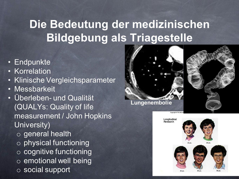 Die Bedeutung der medizinischen Bildgebung als Triagestelle