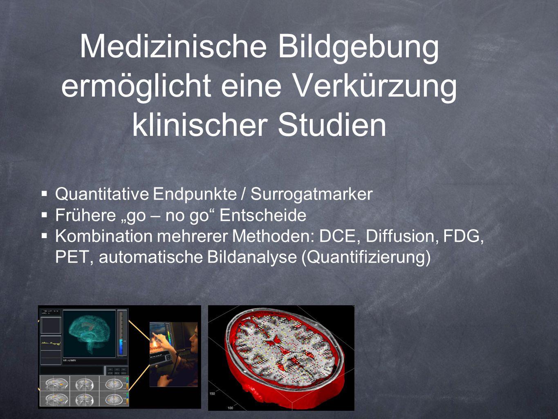 Medizinische Bildgebung ermöglicht eine Verkürzung klinischer Studien