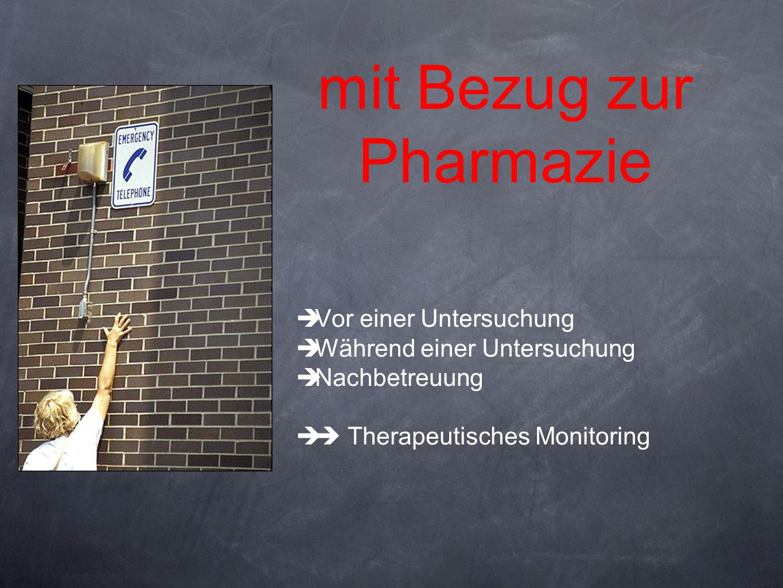 mit Bezug zur Pharmazie