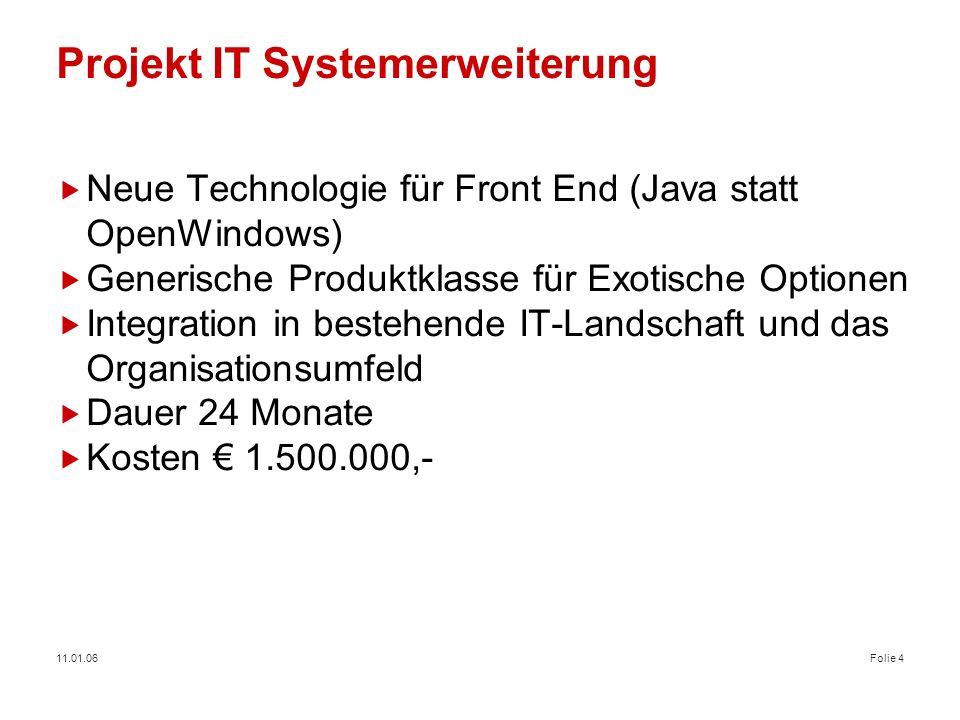Projekt IT Systemerweiterung