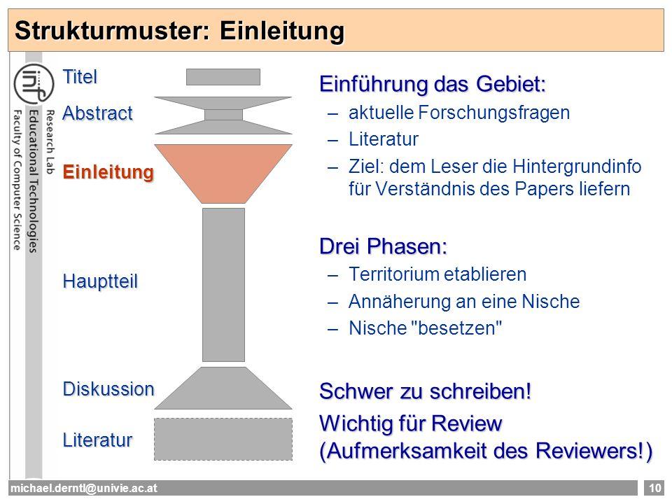 Strukturmuster: Einleitung