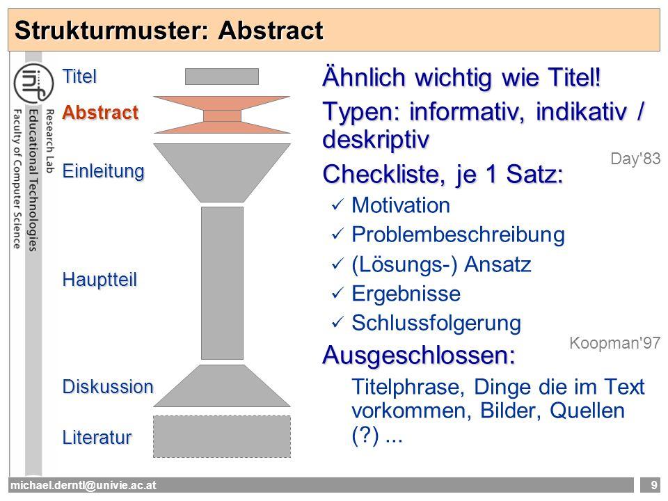 Strukturmuster: Abstract