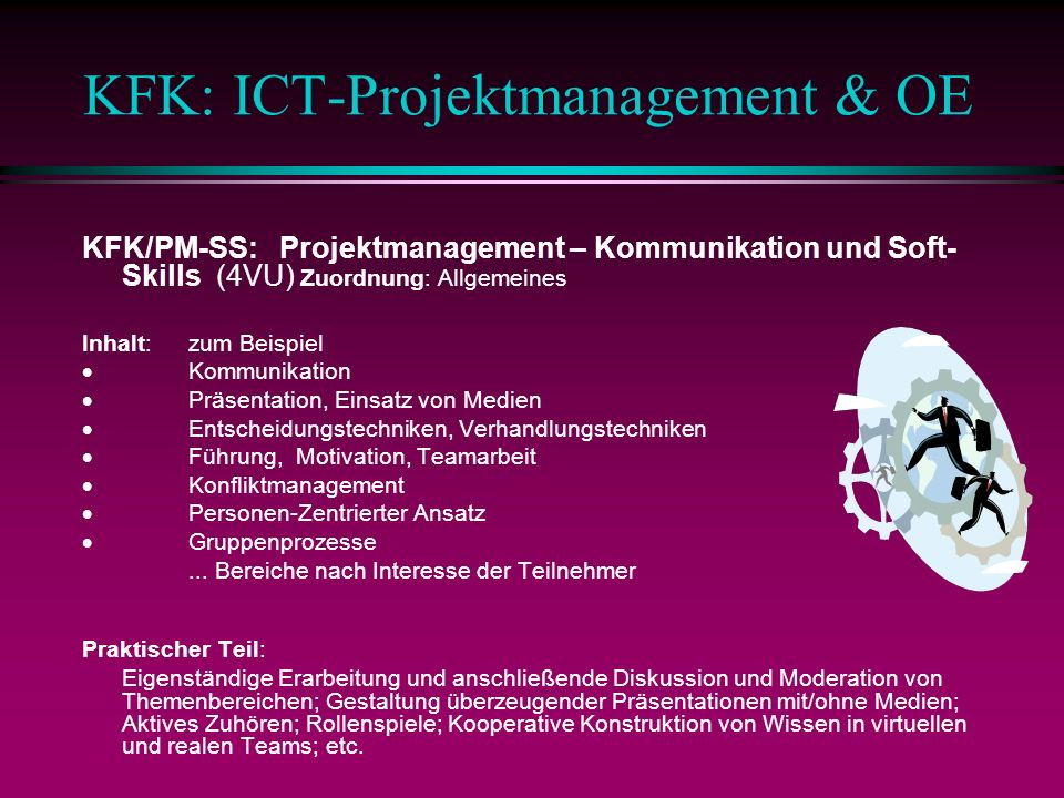 KFK: ICT-Projektmanagement & OE