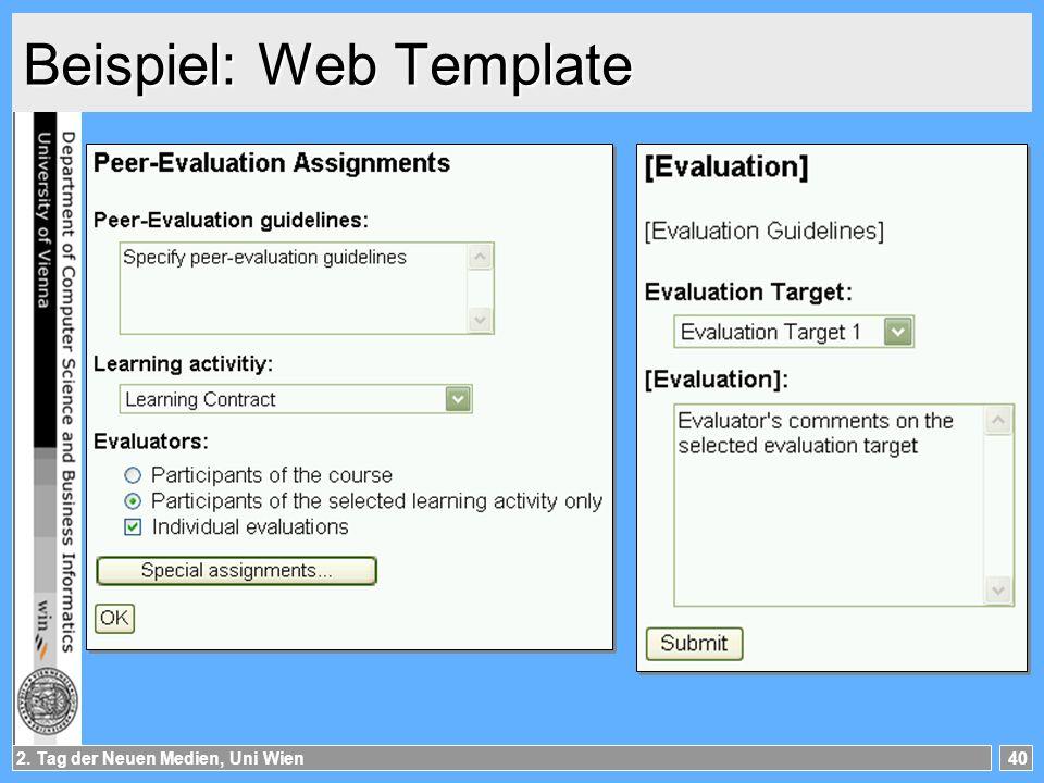 Beispiel: Web Template