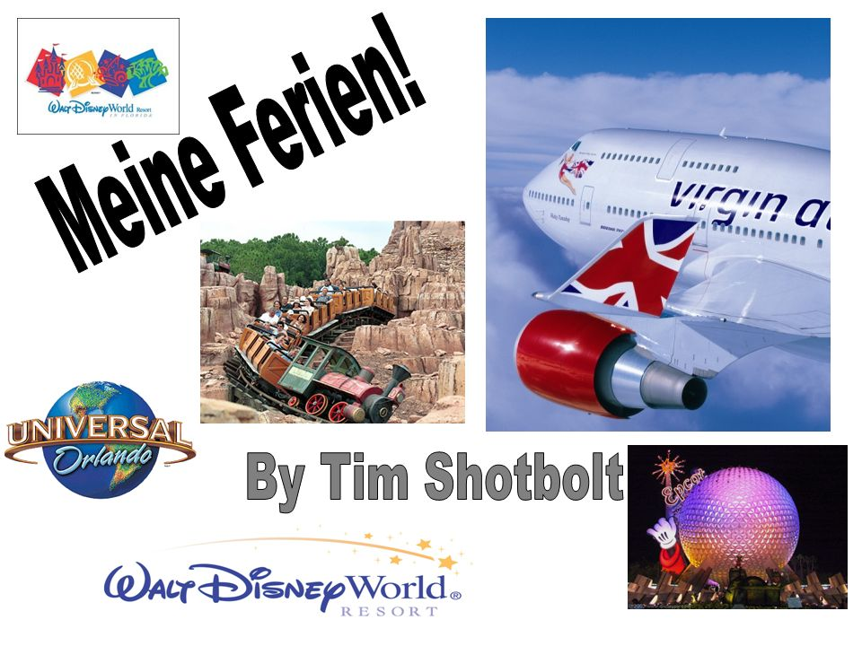 Meine Ferien! By Tim Shotbolt