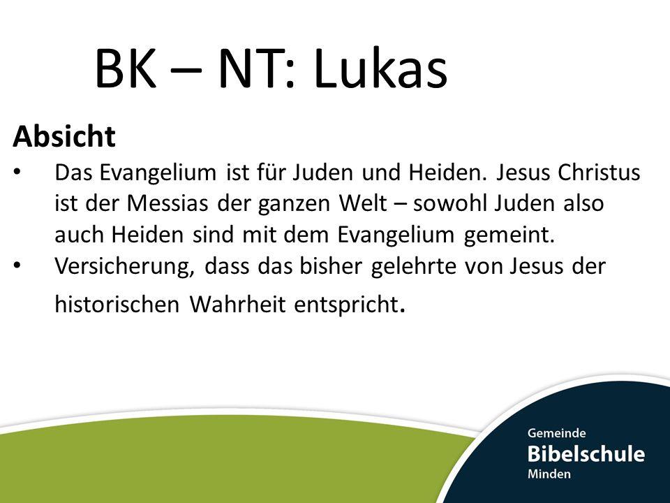 BK – NT: Lukas Absicht.