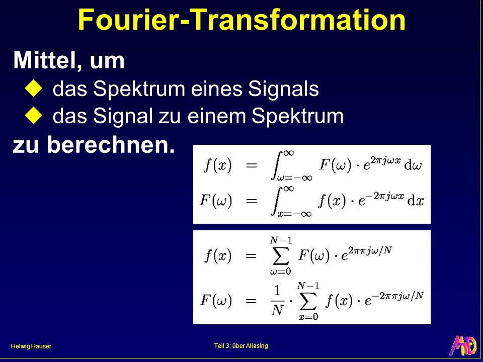 Fourier-Transformation