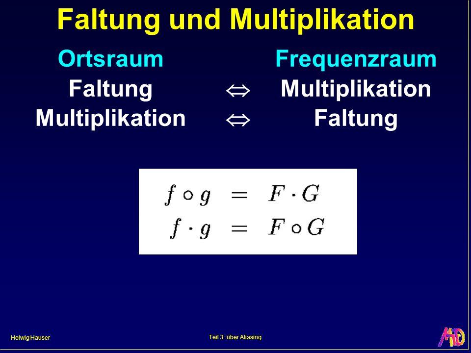Faltung und Multiplikation