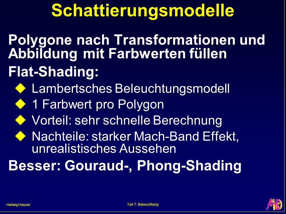 Schattierungsmodelle
