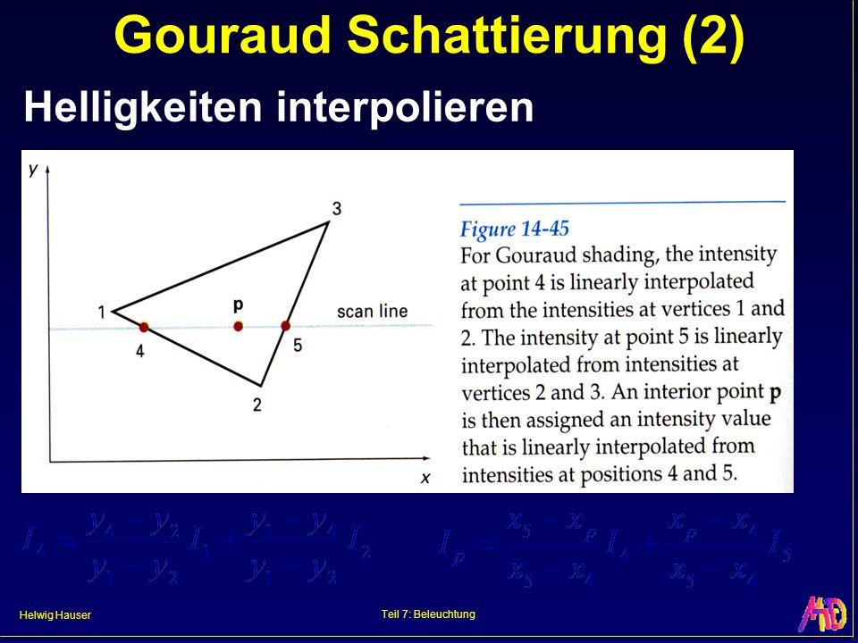 Gouraud Schattierung (2)