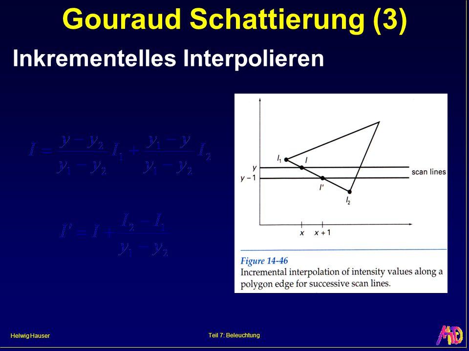 Gouraud Schattierung (3)