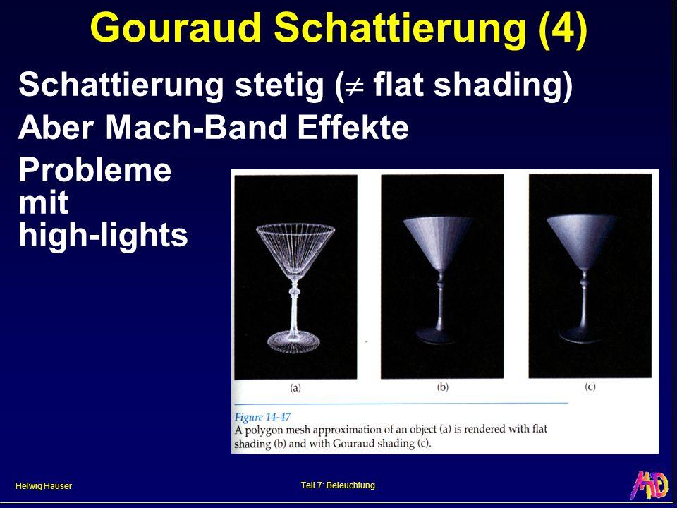 Gouraud Schattierung (4)