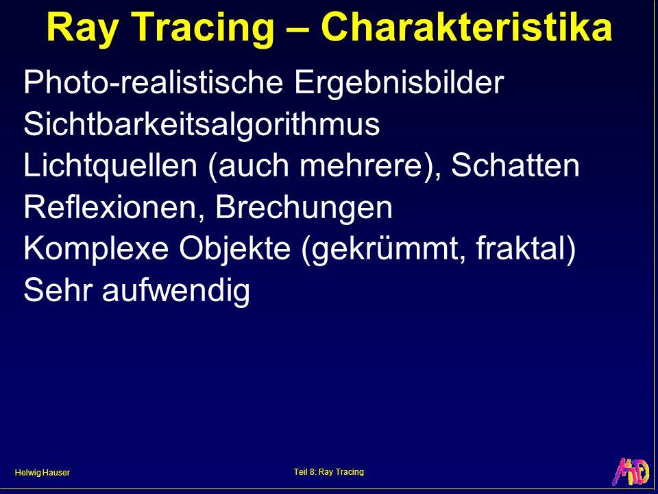 Ray Tracing – Charakteristika