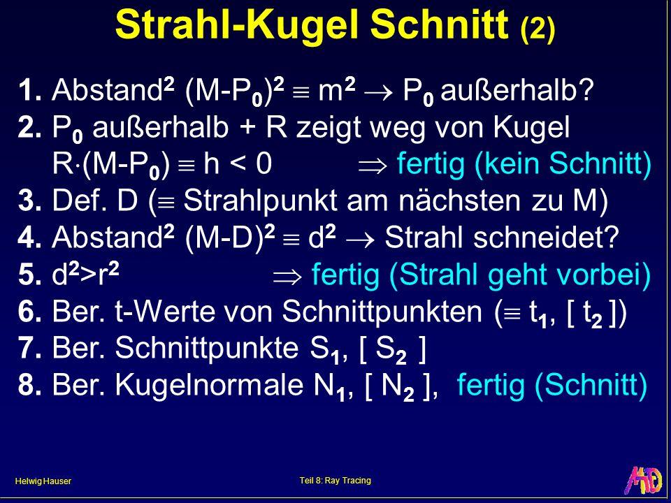 Strahl-Kugel Schnitt (2)