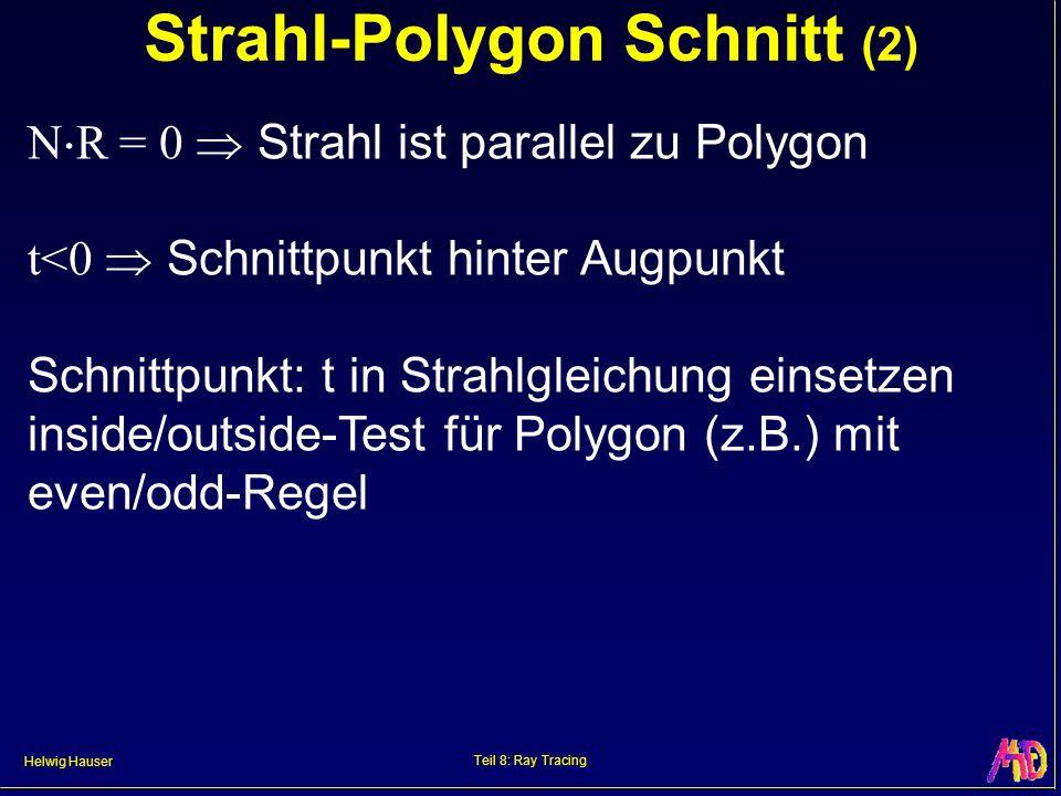 Strahl-Polygon Schnitt (2)