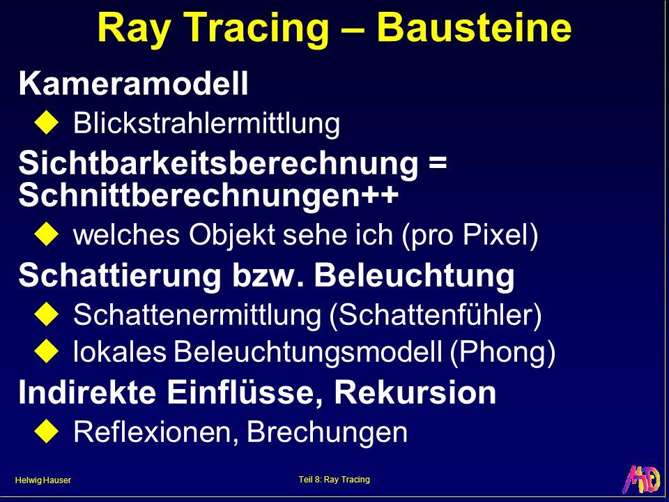 Ray Tracing – Bausteine