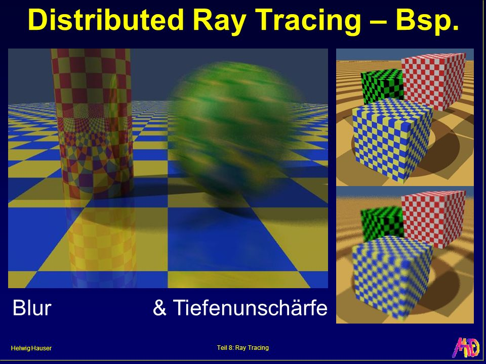 Distributed Ray Tracing – Bsp.