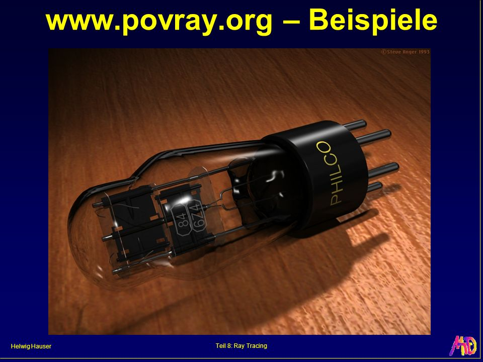 www.povray.org – Beispiele