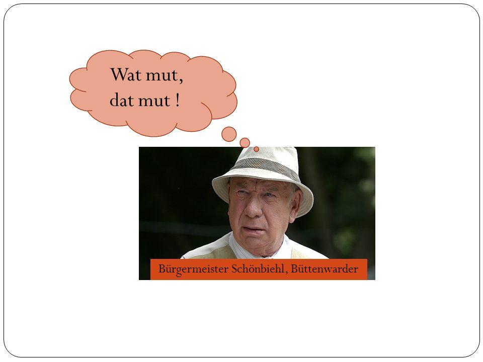 Bürgermeister Schönbiehl, Büttenwarder