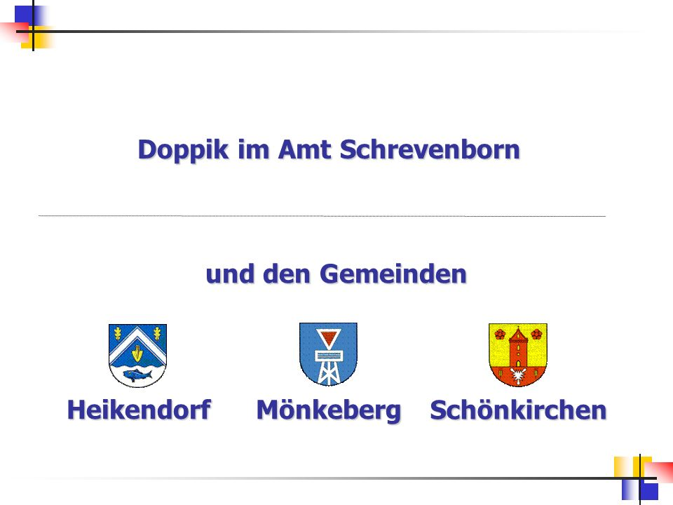 Doppik im Amt Schrevenborn