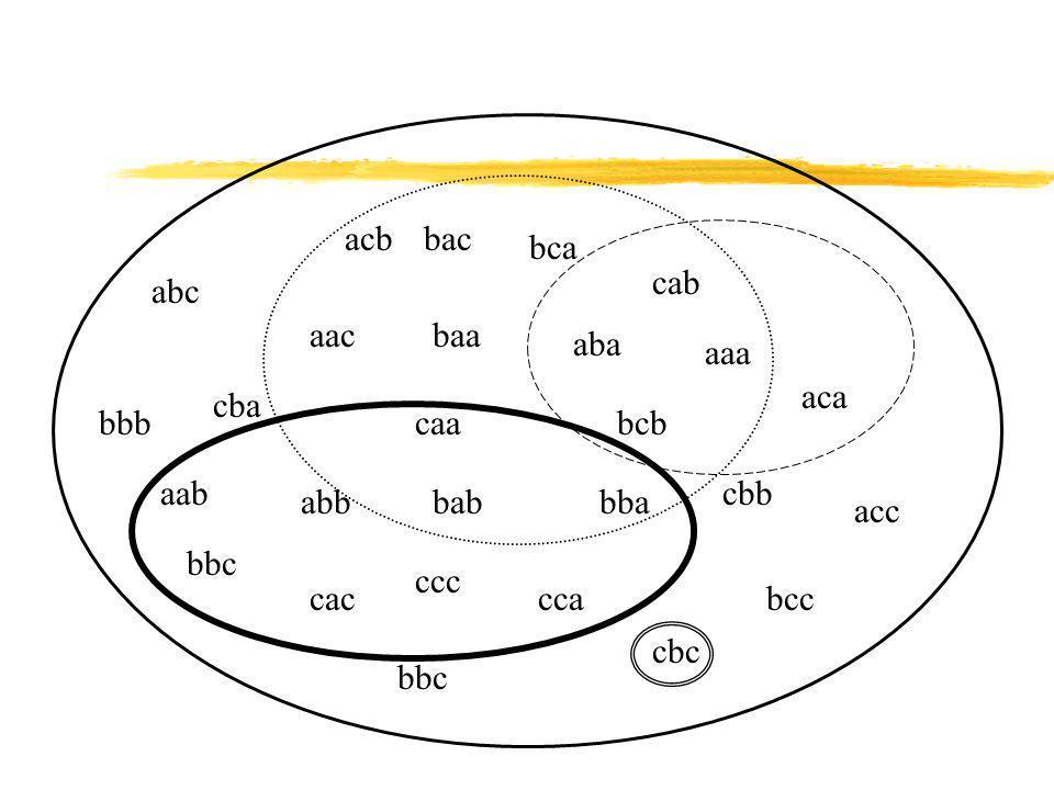 acb bac. bca. cab. abc. aac. baa. aba. aaa. aca. cba. bbb. caa. bcb. aab. cbb. abb. bab.