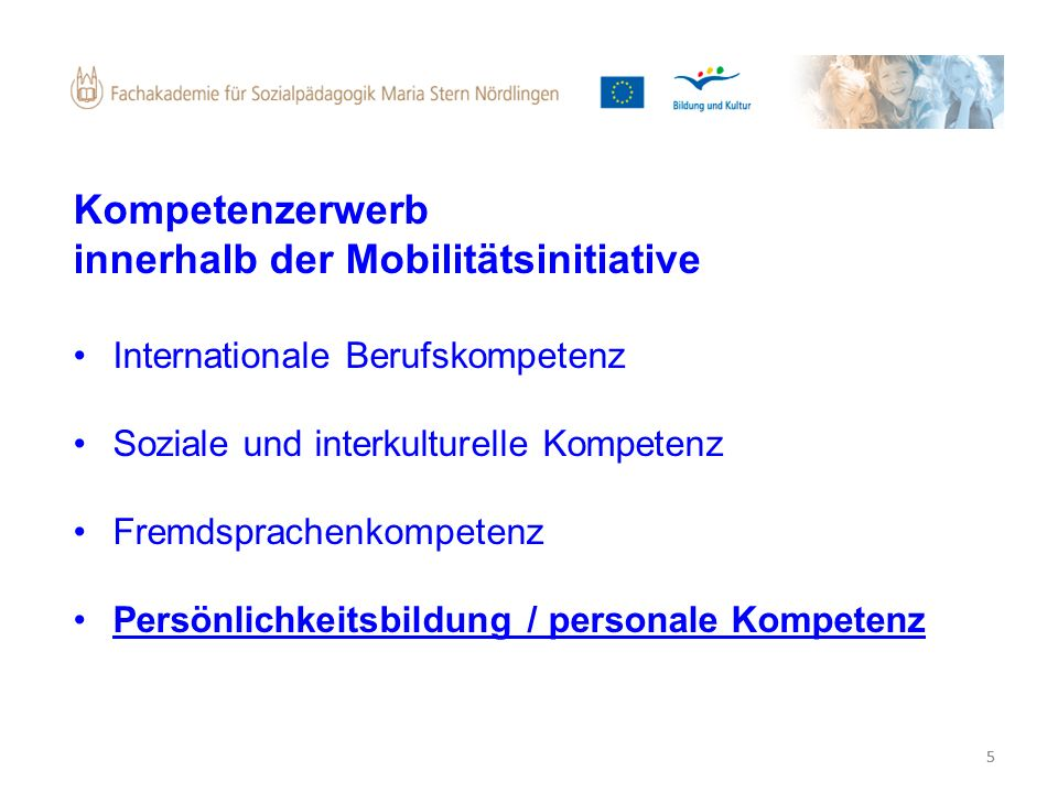 innerhalb der Mobilitätsinitiative