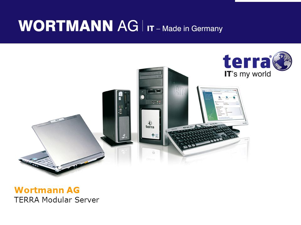 Wortmann AG TERRA Modular Server