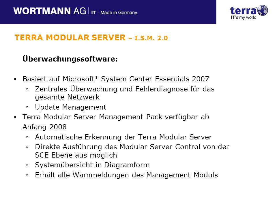 TERRA MODULAR SERVER – I.S.M. 2.0
