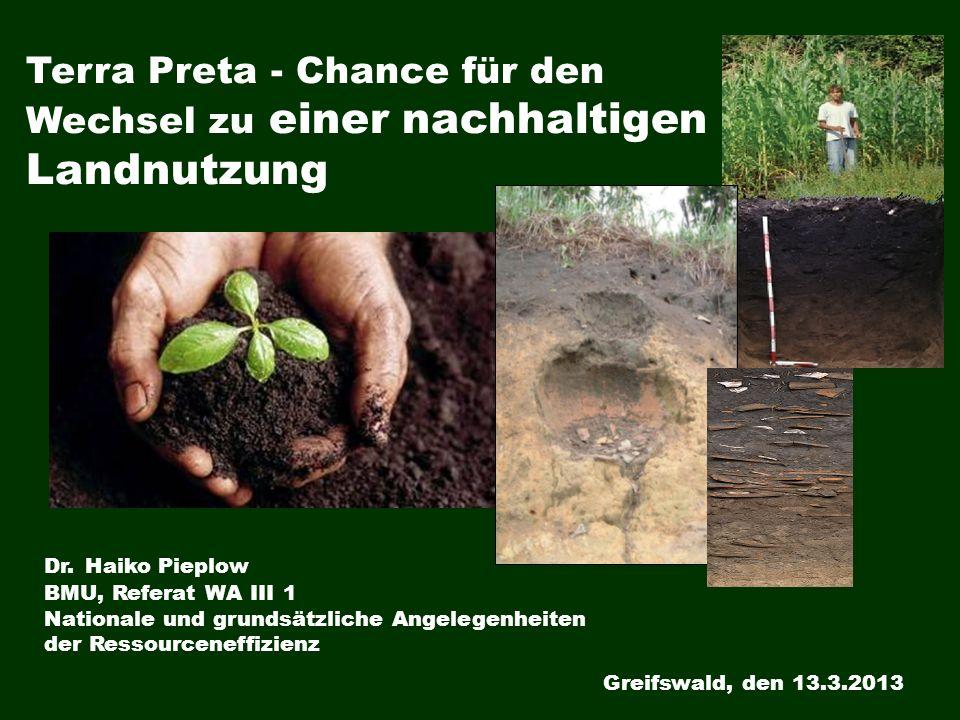 Terra Preta - Chance für den Wechsel zu einer nachhaltigen Landnutzung