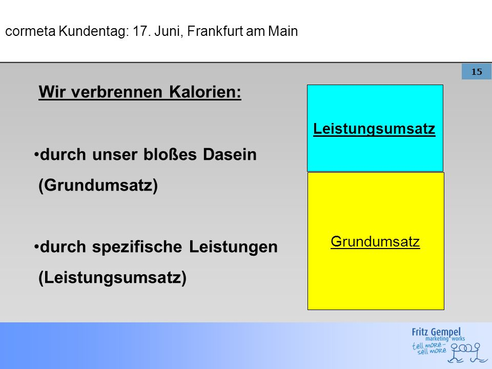 cormeta Kundentag: 17. Juni, Frankfurt am Main