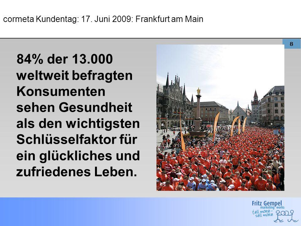 cormeta Kundentag: 17. Juni 2009: Frankfurt am Main