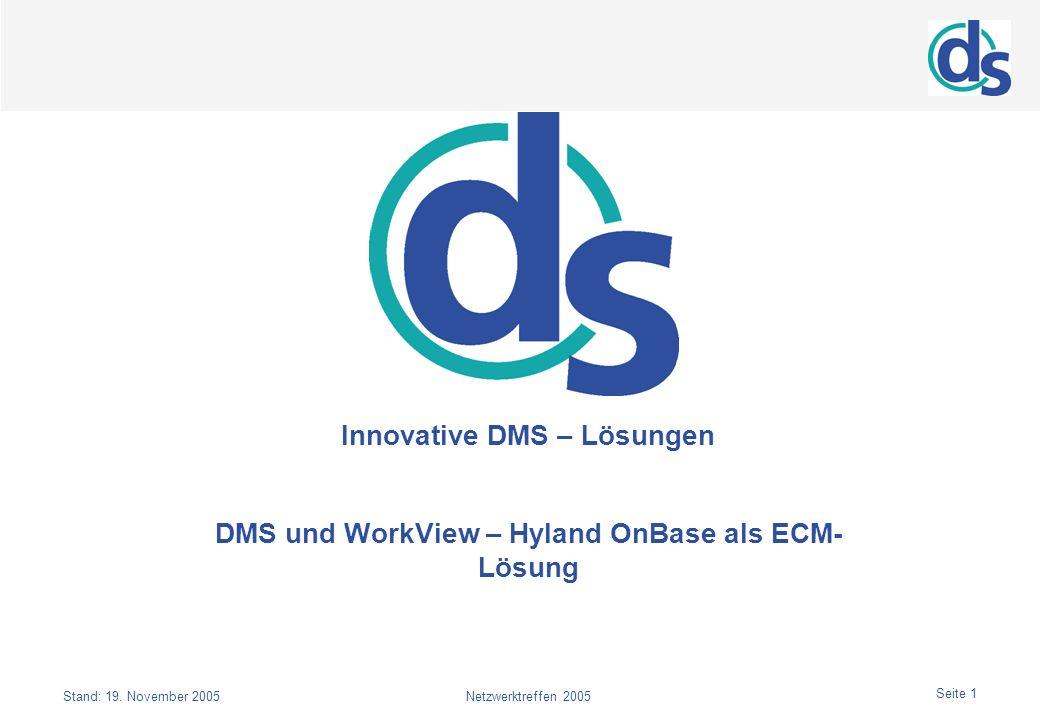 Innovative DMS – Lösungen
