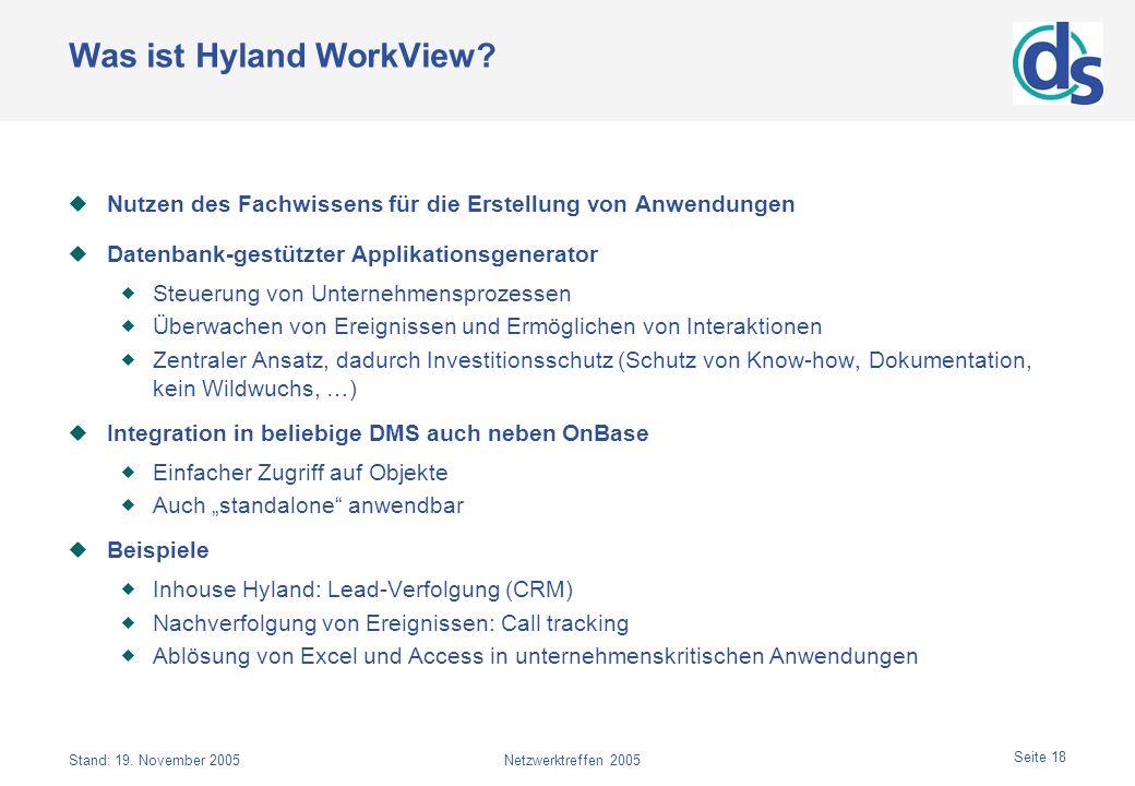 Was ist Hyland WorkView