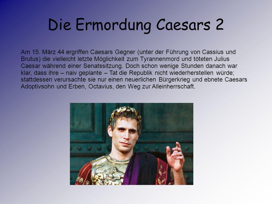 Die Ermordung Caesars 2