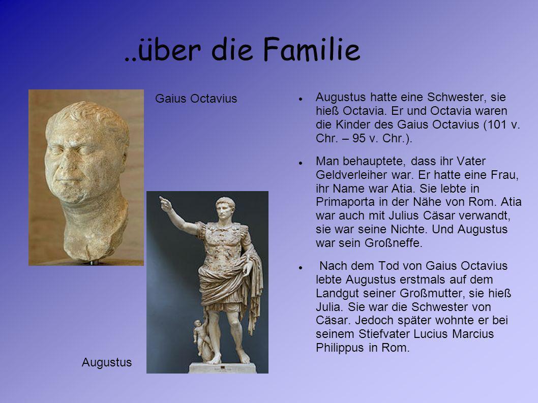..über die Familie Gaius Octavius