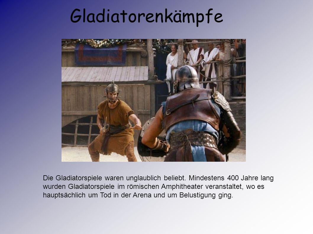 Gladiatorenkämpfe