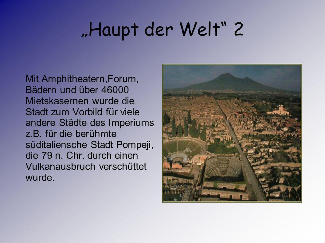 """""""Haupt der Welt 2"""