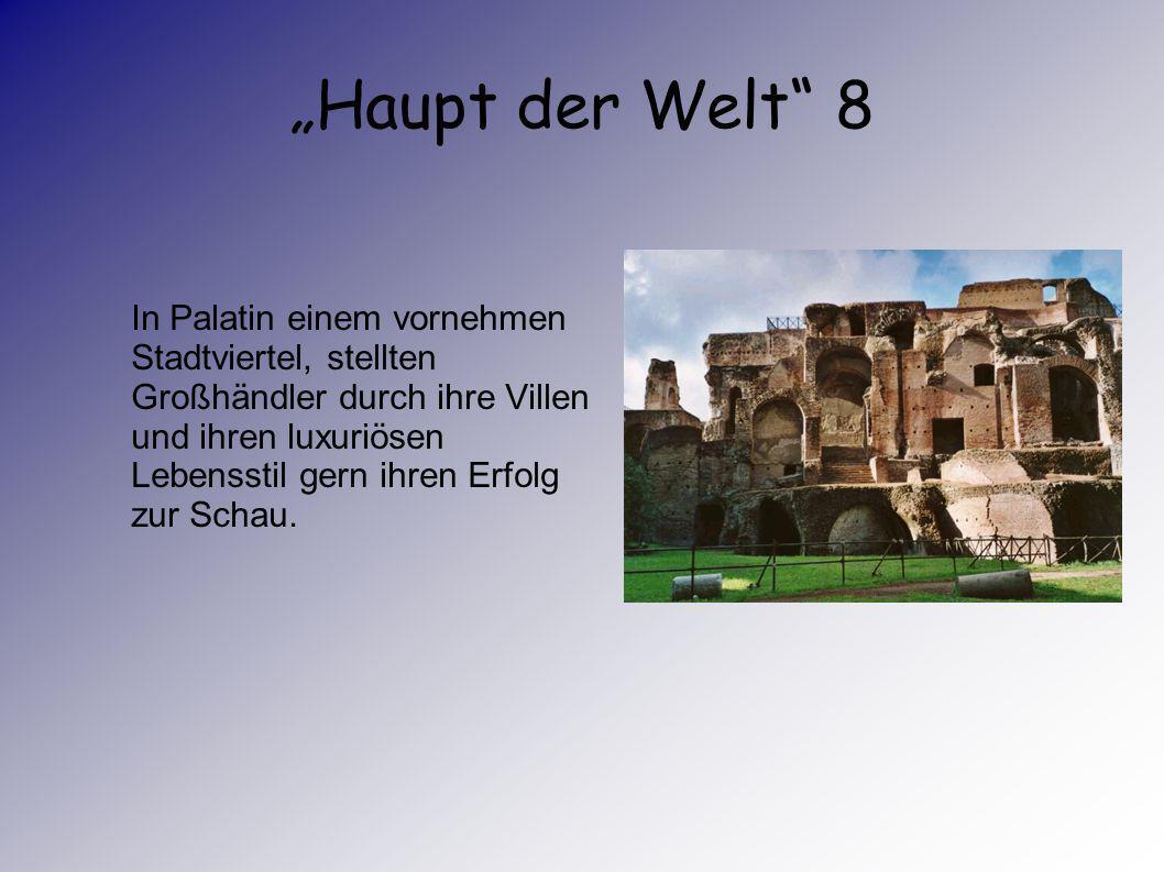 """""""Haupt der Welt 8"""