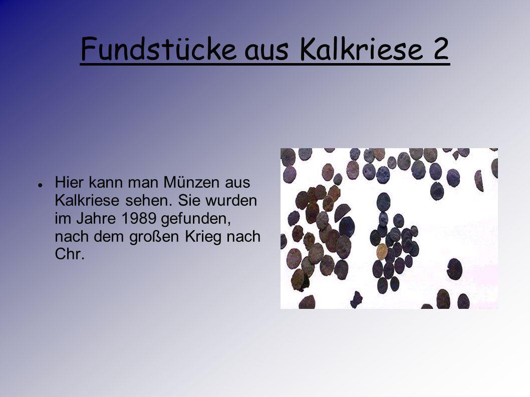 Fundstücke aus Kalkriese 2