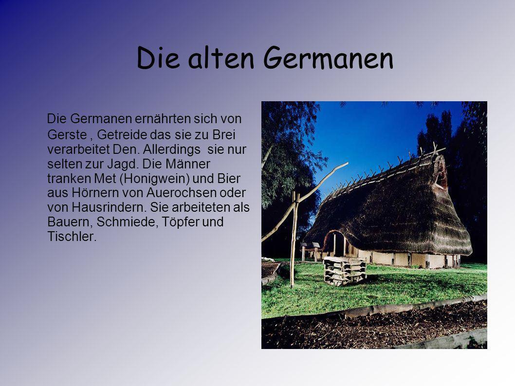 Die alten Germanen