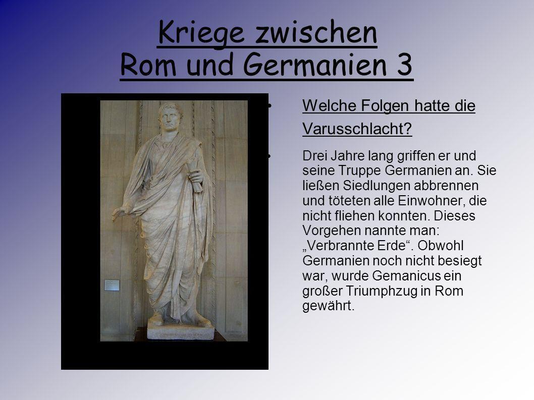 Kriege zwischen Rom und Germanien 3