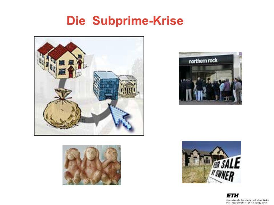 Die Subprime-Krise