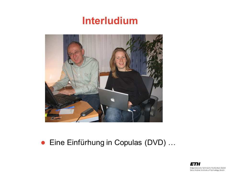 Interludium Eine Einfürhung in Copulas (DVD) …