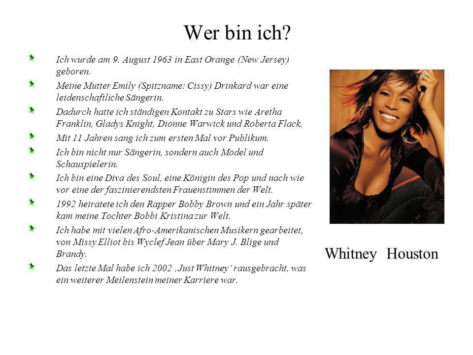 Wer bin ich Whitney Houston